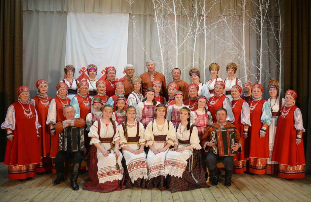 Фото народного хора «Зорюшка»